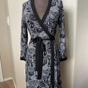 Tahari wrap dress